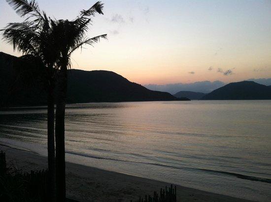 Six Senses Con Dao : dawn view from balcony