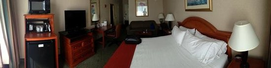 Holiday Inn Express Poughkeepsie: Room 432 panorama from the window.