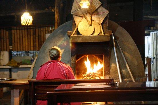 El chozon bar & grill: Nice Pizza