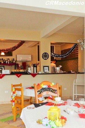 Villa Tenorio: Área para convívio/cozinha/refeiçoes