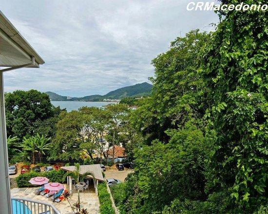 Villa Tenorio : Vista a partir da varanda do quarto