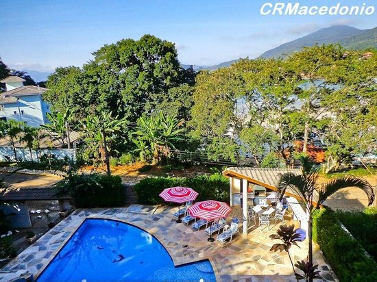 Villa Tenorio : Vista a partir da varanda principal
