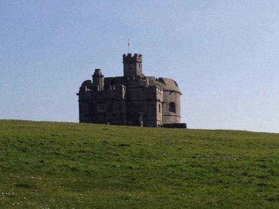 Seaview Inn: The castle Falmouth