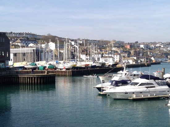 Seaview Inn : Harbour in Falmouth