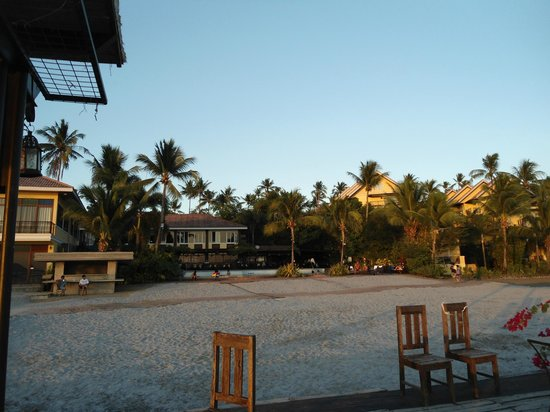 Club Balai Isabel: Terraza cafe and pool view from the gazebo