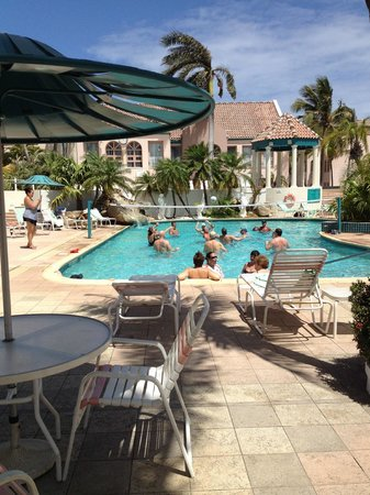 Caribbean Palm Village Resort : Photo of the ACTIVE pool!