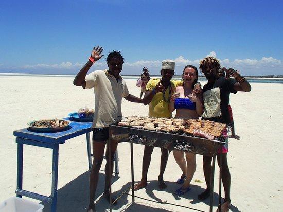 Donamasai Day Tours : Squisito pranzo in preparazione