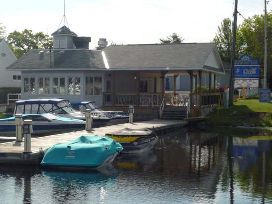 The Galley: Visit us by road or water!