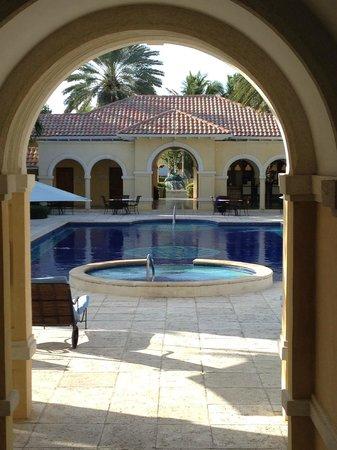 Villa Renaissance: pool area