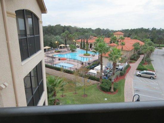Tuscana Resort Orlando by Aston: Vista desde el 4° piso