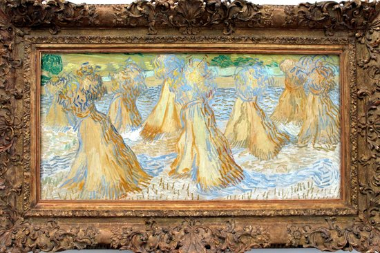 Dallas Museum Of Art - Vincent van Gogh - Sheaves Of Wheat