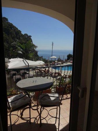 Hotel della Piccola Marina : Vista do quarto!