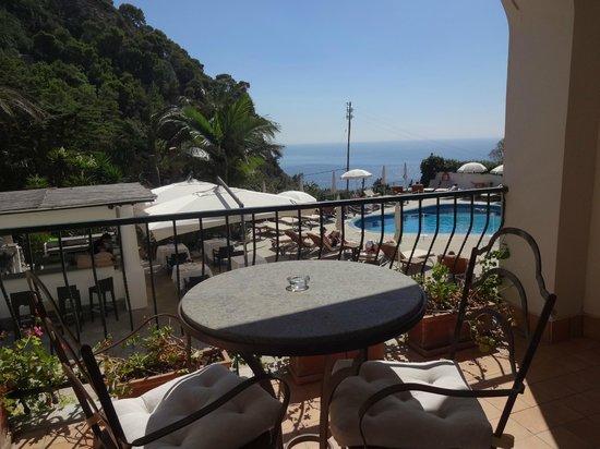 Hotel della Piccola Marina: Varanda do quarto