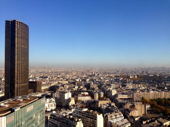 Pullman Paris Montparnasse : View from hotel room