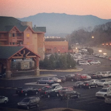 Wyndham Vacation Resorts Great Smokies Lodge : You from our room