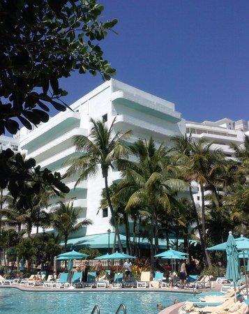 Hotel Riu Plaza Miami Beach: Pool/Beach area
