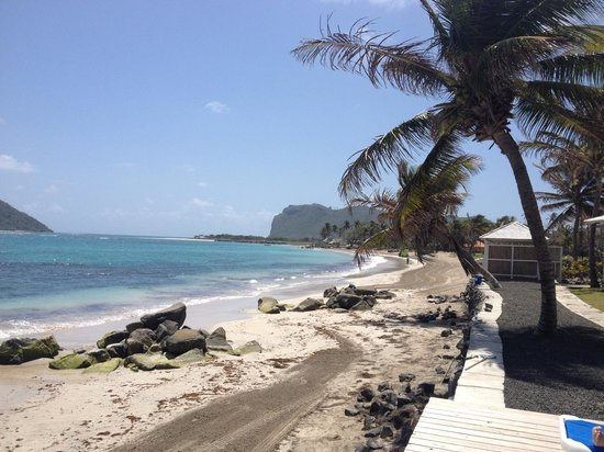 Coconut Bay Beach Resort & Spa: Lovely view from our sun lounger