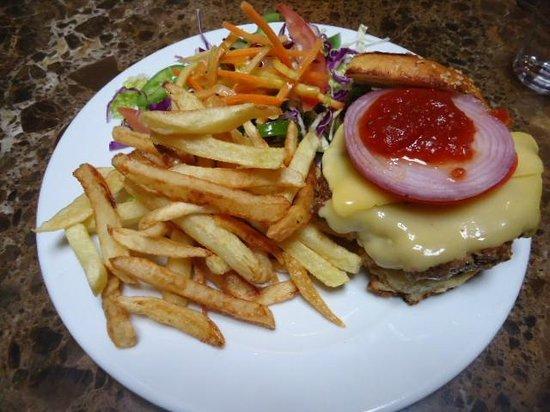 Cafe Clock : Juicy tasty camel burger!