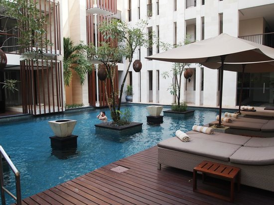 Anantara Seminyak Bali Resort: Private Swimming Pool