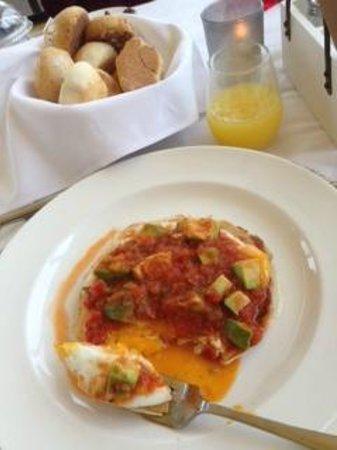 Restaurante Casa Santo Domingo : Quesadillas breakfast at Santo Domingo del Cerro