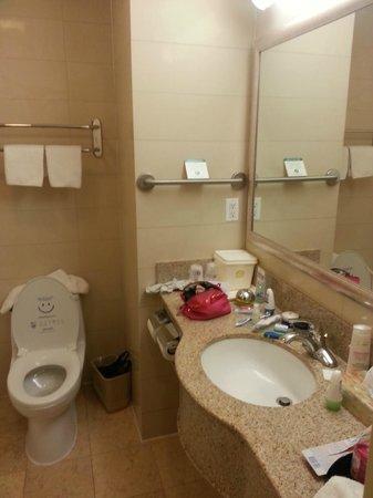 Best Western Plaza Hotel: baño