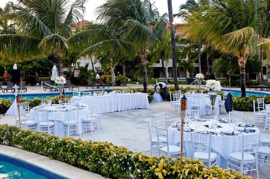 Dreams Palm Beach Punta Cana Wedding Reception