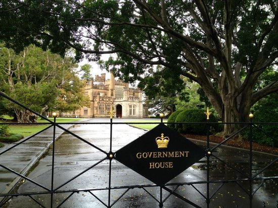 Government House : Gated entrance
