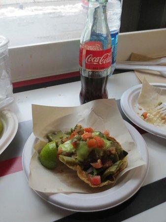 Los Tacos No. 1: Mmm!  Tasty!  Delicious tacos!