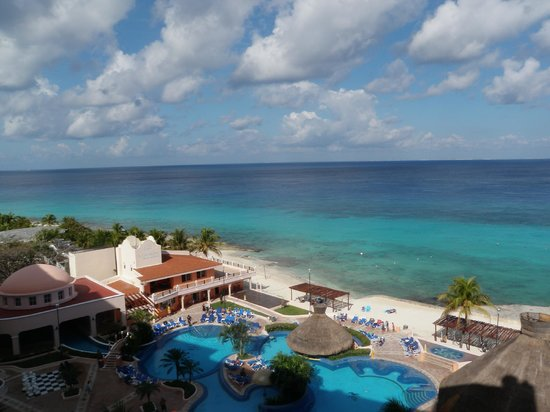 El Cozumeleño Beach Resort: our view