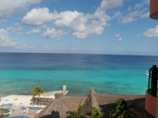 El Cozumeleno Beach Resort: view from 7th floor south tower