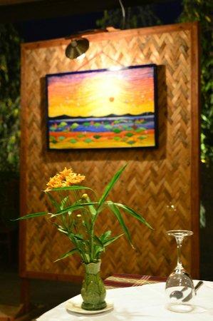 Restaurant Trattoria - La Terrasse : Our 24 hours sunset ...   :-)