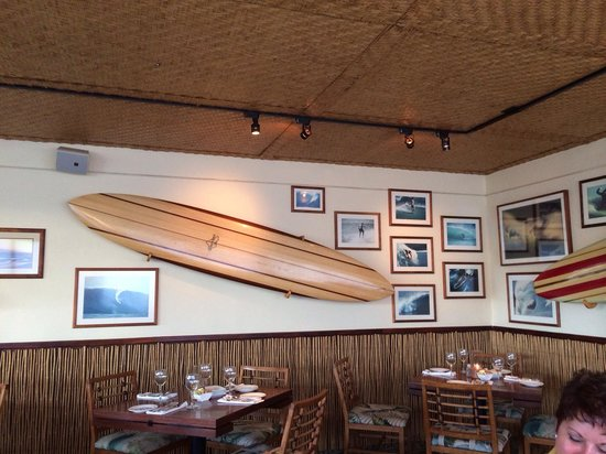 Haleiwa Joe's Seafood Grill: Board room wall of fame 3
