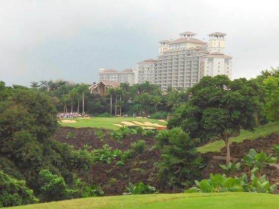 Mission Hills Resort Haikou: 球場一景