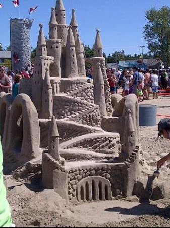 """Sauble Beach: Photo By June Manewell Photography. Sandi """"Castle"""" Stirling... visit her online!"""