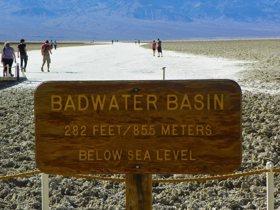 The Ranch at Death Valley : Badwater Basin