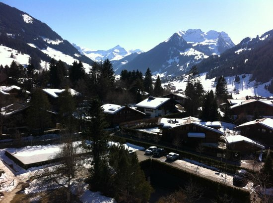 Park Gstaad: Vue depuis la chambre 514