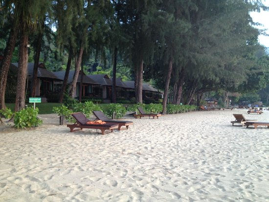 Tup Kaek Sunset Beach Resort: the beach