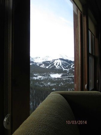 The Lodge at Breckenridge: View of Breckenridge Ski Resort