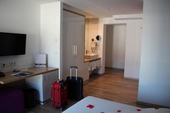 Seevital Hotel Schiff: Waschbecken mitten im Zimmer