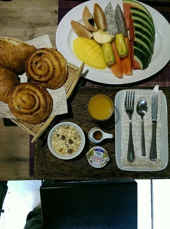 maison557 : Healthy breakfast