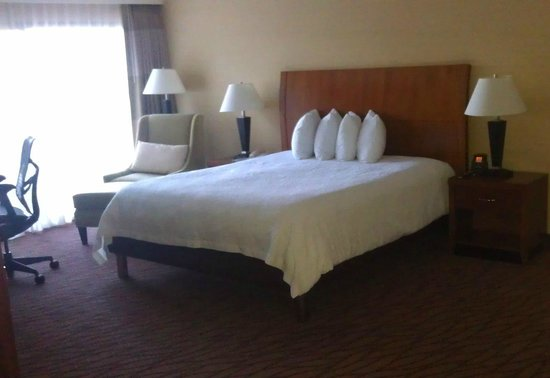 Hilton Garden Inn Monterey : Bed
