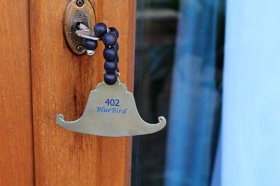 Blue Bird Hotel: Key chain