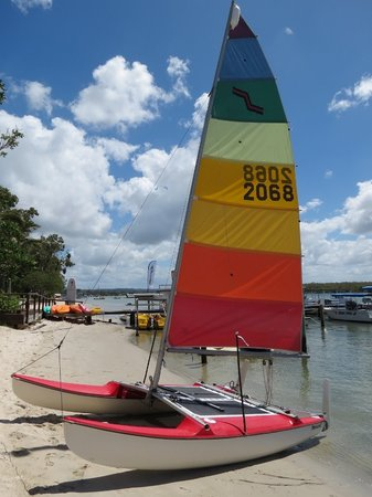 Noosa Watersports: Catamaran hire noosa