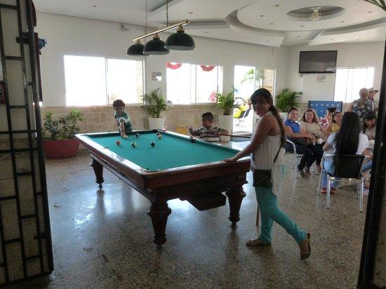 Hotel Cartagena Plaza: Piso 18 Bar snacks y piscina