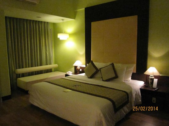 Park View Hue Hotel: Bedroom