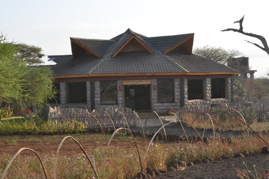 AA Lodge Amboseli: Ресторан.