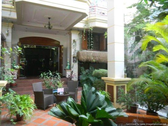 Alibi Guesthouse : Courtyard