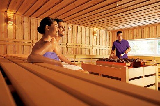 Tamina Therme: Saunalandschaft