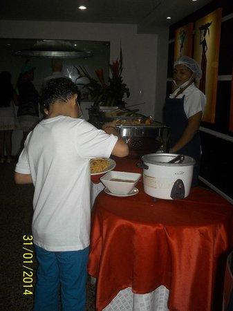 Hotel Cartagena Plaza: Restaurante