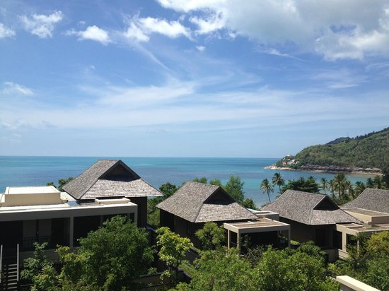 Vana Belle, A Luxury Collection Resort, Koh Samui : View from our room